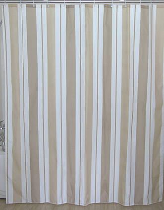 Шторка для ванної вертикальні смужки AWD02100846