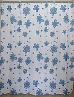 Шторка для ванной цветы AWD02100847