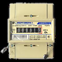Счетчик электроэнергии ЦЭ 6807Б-U K 1,0 220В (5-60А) М6Р5 однофазный однотарифный