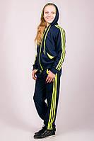 Детский спортивный костюм Лампас (синий), фото 1