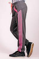 Детские спортивные штаны Лампас (темно-серые), фото 1