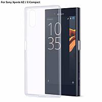 Ультратонкий 0,3 мм чехол для Sony Xperia XZ прозрачный