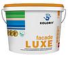 "Краска  силиконизированная KOLORIT FASILIT фасадная база ""LA""-белая 9л, фото 2"