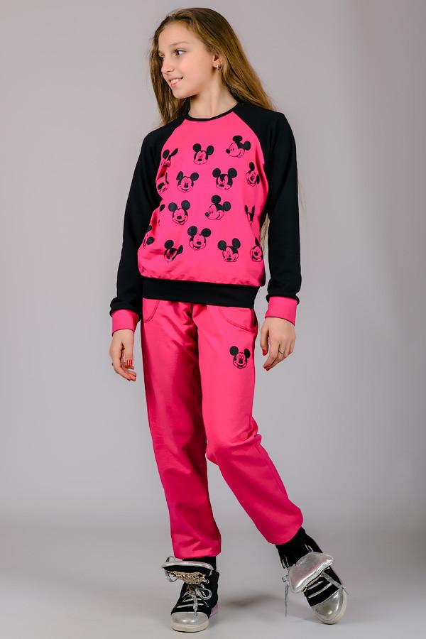 Детский спортивный костюм Микки (малина)