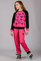 Детский спортивный костюм Микки (малина), фото 1