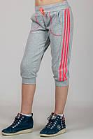 Трикотажные спортивные бриджи на девочку  Спорт №3, фото 1