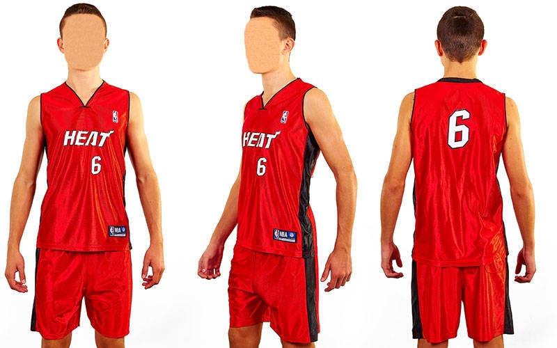 Форма баскетбольна підліткова NBA HEAT 6 CO-0038-12