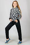 Детский спортивный костюм Звезды (черный), фото 2