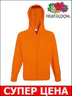 Мужская Кофта легкая с капюшоном на замке LIGHTWEIGHT Цвет Оранжевый Размер XXL 62-144-44 XXL