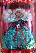 Лялька Барбі колекційна Святкова 1995 ( Barbie Happy Holidays Special Edition Doll (1995), фото 3