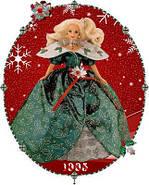 Лялька Барбі колекційна Святкова 1995 ( Barbie Happy Holidays Special Edition Doll (1995), фото 7