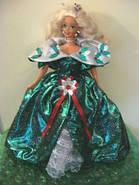 Лялька Барбі колекційна Святкова 1995 ( Barbie Happy Holidays Special Edition Doll (1995), фото 9