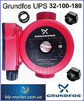 Насос циркуляционный Grundfos UPS 32-100-180 вал металл