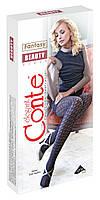 Колготки женские хлопковые ажурные Conte BEAUTY, р.2-4
