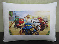 Подушка с фото мультфильм Ниндзяго Ninjago