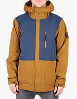 Мужская сноубордическая, горнолыжная куртка Bonfire Men's Davis Snowboard Jacket Midnight, размер XS, фото 1