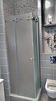 Душевая кабина из матового стекла на заказ. Киев
