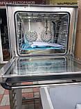 Печь конвекционная с пароувлажнением  VEKTOR EB-4A (4 противня), фото 3