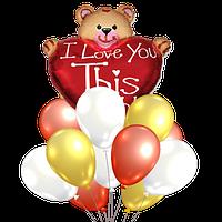 """Букет воздушных шаров """"С любовью"""""""