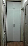 Шкаф распашной белый, прямой, крашеный МДФ
