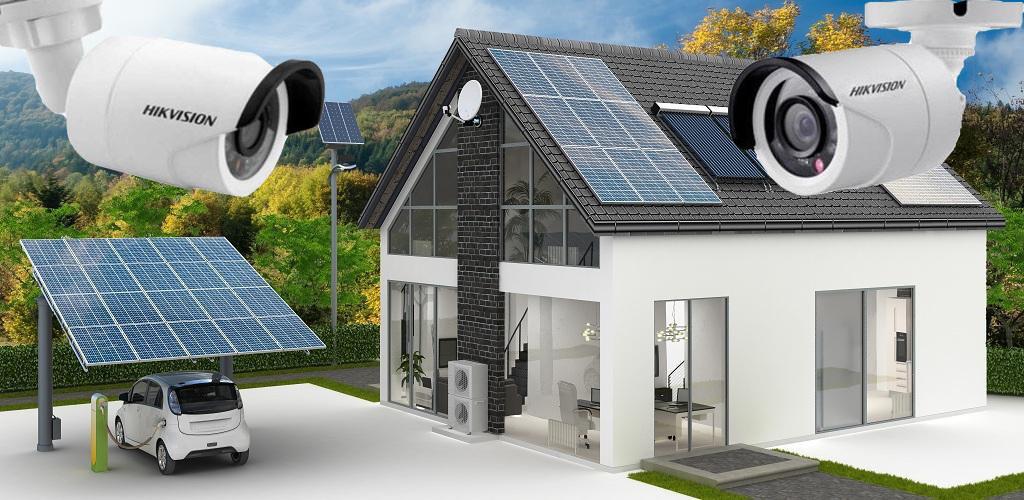 Автономна сонячна станція з системою відеоспостереження
