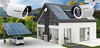 Автономная солнечная станция с системой видеонаблюдения