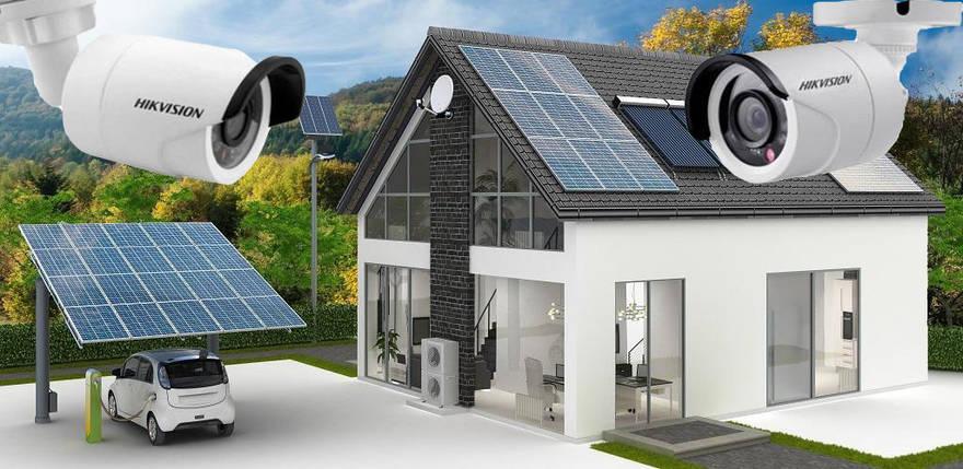 Автономна сонячна станція з системою відеоспостереження, фото 2