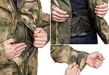 Куртка непромокаемая с флисовой подстежкой MilTec TACS FG 10615059, фото 3