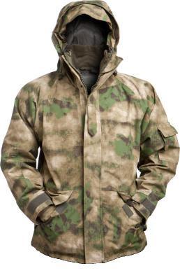 Куртка непромокаемая с флисовой подстежкой MilTec TACS FG 10615059