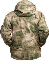 Куртка непромокаемая с флисовой подстежкой MilTec TACS FG 10615059, фото 2