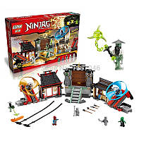 "Конструктор lepin ninja 06033 ""боевая площадка аэроджитцу"" 723 деталей.  ninjago 70590"