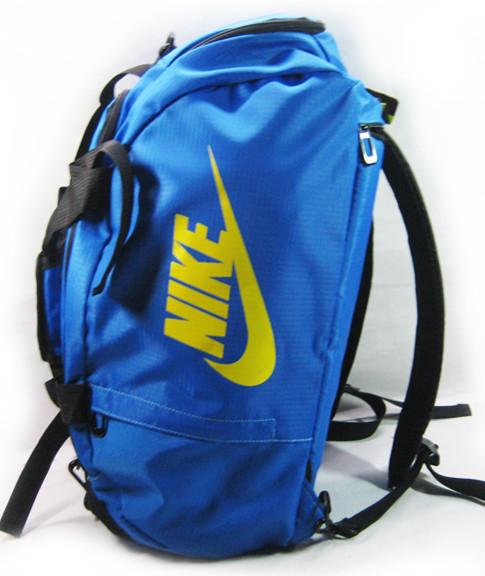 Сумка-рюкзак Nike Total 90 Slim, Найк синяя с жёлтым