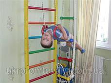 Канат для лазания d=30 мм 4 метра гимнастический с кронштейном , фото 2