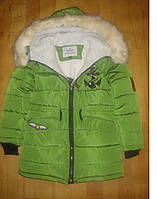 Зимняя куртка на овчине для девочек Рост:146см