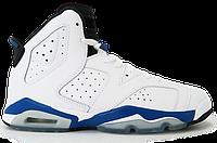 Детские кроссовки Nike Air Jordan 6 Retro BG 384665-107 JR