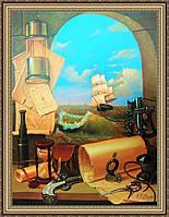 Картина в багетной раме Морской пейзаж 300х400 мм №375