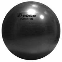 Мяч гимнастический TOGU My Ball Soft, 65 см. (черный)