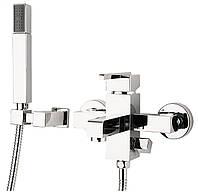 Змішувач для ванни Deante CUBIC з душовим комплектом, фото 1