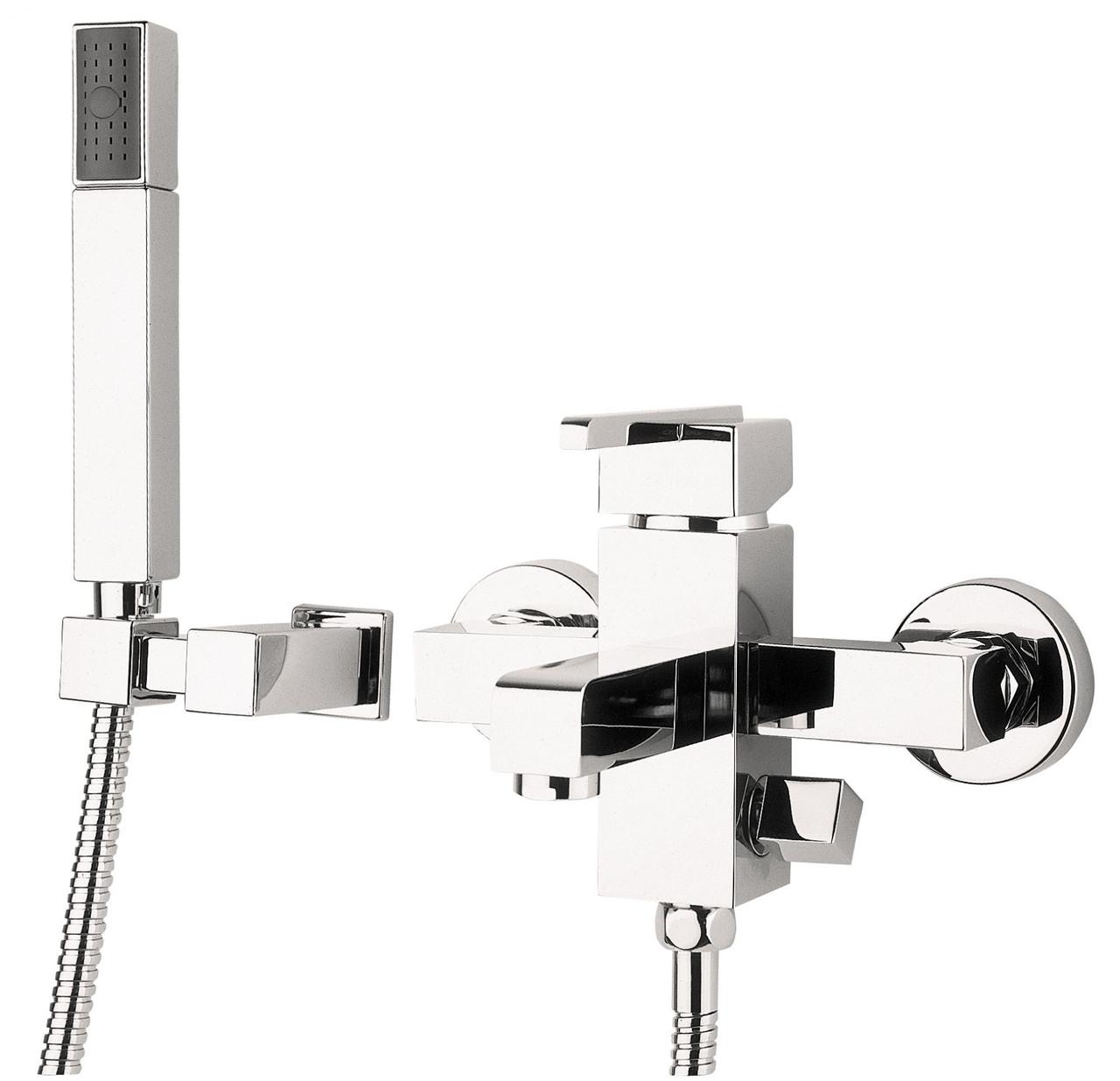 Змішувач для ванни Deante CUBIC з душовим комплектом