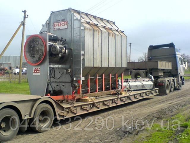 Перевозка оборудования грузовым автотранспортом