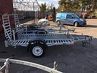 Прицеп для перевозки квадроцикла 2,5м х 1,4м. Цинк!