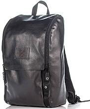 Современный городской рюкзак Rozmah RL-4, черный 16 л