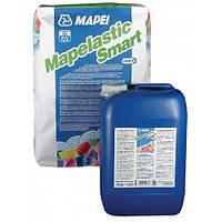"""Двухкомпонентная высокоэластичная гидроизоляция """"Mapelastic Smart"""" Mapei"""