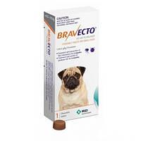 Таблетки Bravecto от блох и клещей для собак 4,5-10 кг