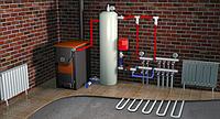 Як правильно підключити теплу підлогу до твердопаливного котла