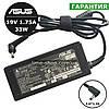 Блок питания зарядное устройство ASUS 33W Chromebook C200, Chromebook C300, F102BA, Ultrabook S200, F201E,