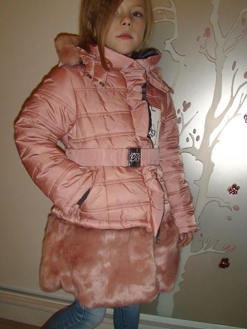 Зимнее пальто (куртка) для девочки Borelli (Италия) 2b8bc0b16c682