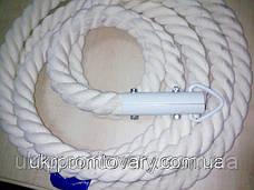 Канат для лазания d=22 мм 3 метра гимнастический с хомутом, фото 2