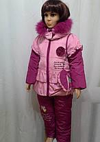 Зимние комбинезоны для девочек, фото 3