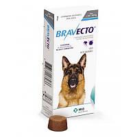 Таблетки Bravecto от блох и клещей для собак 20-40 кг